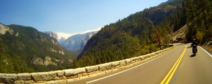 First Glimpse of Yosemite Valley